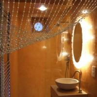 Bathroom for an actress in Stucco Venezia ~ Somerset