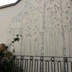 Silver Birch Mural