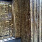 Oak graining detail