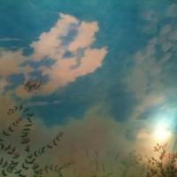 Garden cottage mural ~ le Manior aux Quat'Saisons